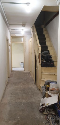 Staircase Preparation Painter